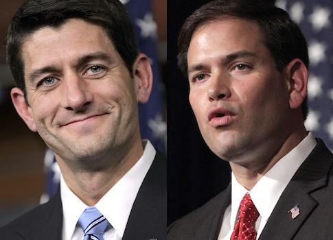 Paul Ryan, Marco Rubio / AP