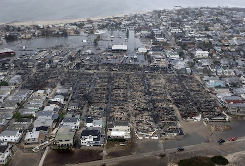Aftermath of Hurricane Sandy / AP