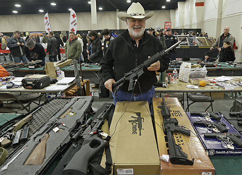 2013 gun show in Utah / AP
