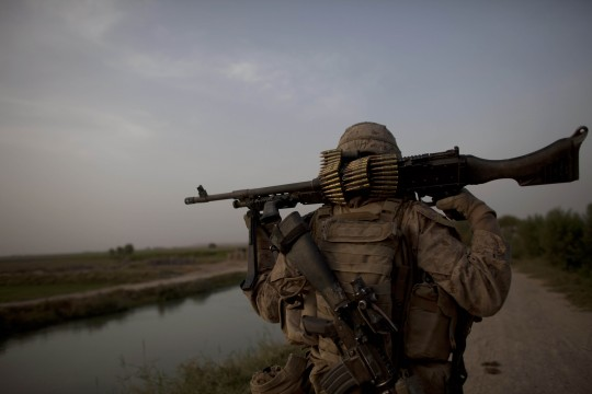 US Marine in Helmand Province / AP
