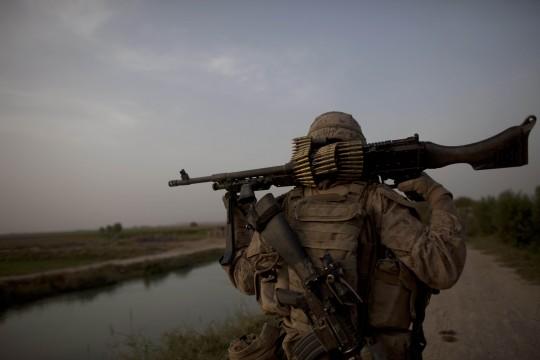 US Marine in Helmand Province / AP
