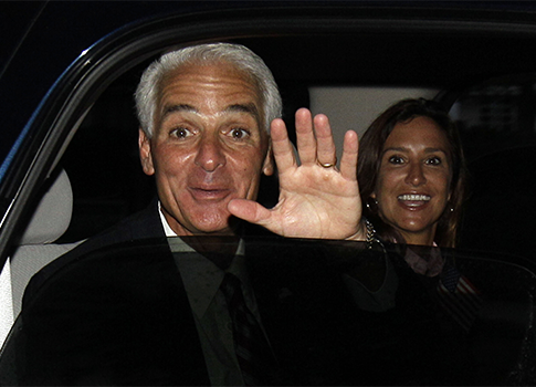 Charlie Crist and wife Carole / AP