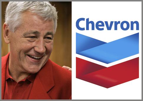 Chuck Hagel AP Chevron