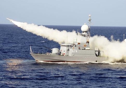 Egypt missile exercise / AP