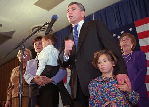 Hagel's 1996 Senate victory / AP