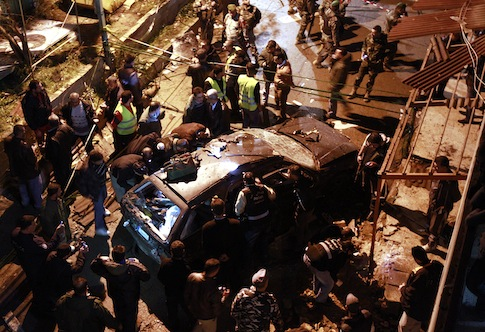 Explosion in Hezbollah stronghold in Lebanon / AP