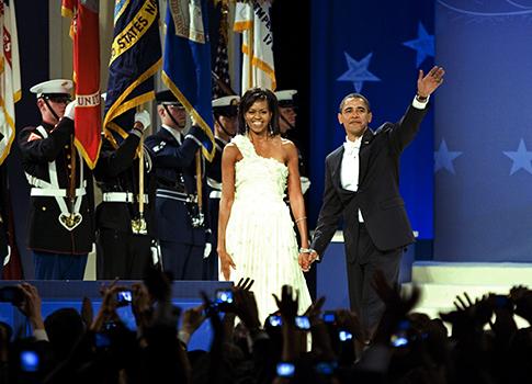 Obama's 2009 Inaugural Ball / AP