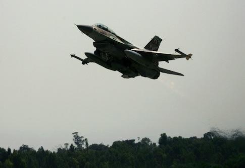 Israeli war plane / AP