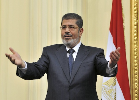 Mohamed Morsi http://freebeacon.com/egypt-adds-three-islamists-to-cabinet/