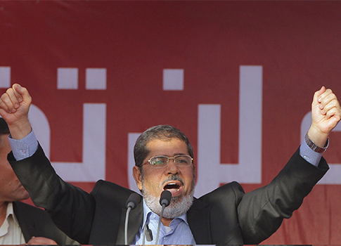 Mohamed Morsi / AP