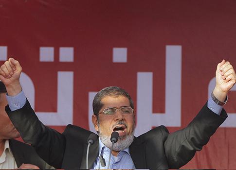 Mohamed Morsi / AP