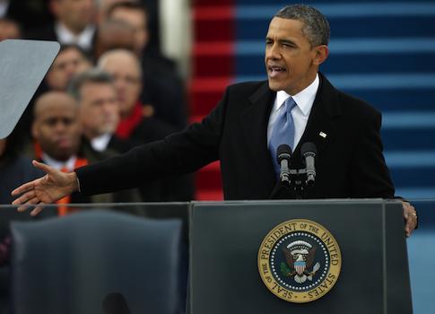 Obama inauguration / AP