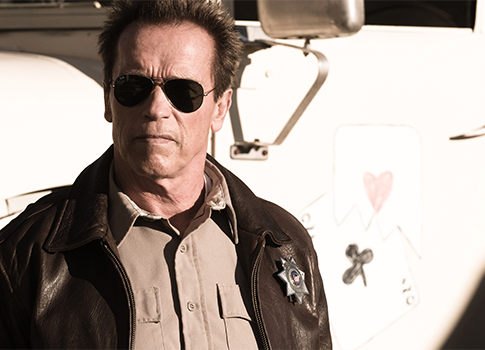 Arnold Schwarzenegger in &quot;The Last Stand&quot; / AP