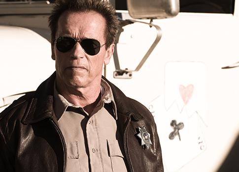 "Arnold Schwarzenegger in ""The Last Stand"" / AP"