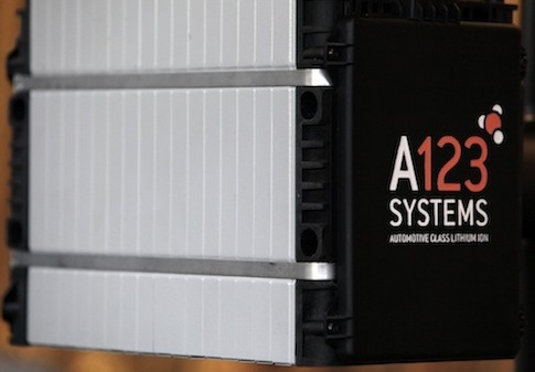 A123 battery pack (AP)