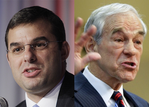 Rep. Amash, former Rep. Paul / AP