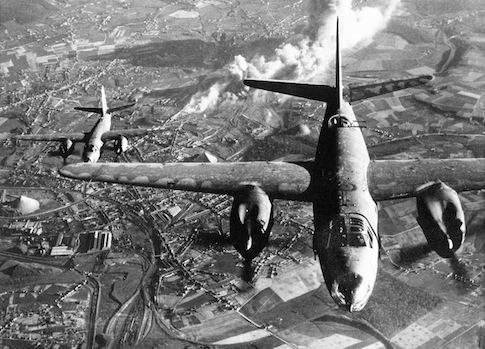 B-26 bomber / AP
