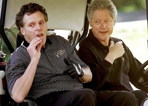 Terry McAuliffe and Bill Clinton 2000 / AP