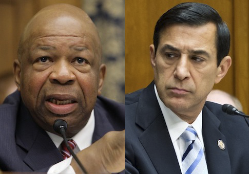 Elijah Cummings, Darrell Issa / AP
