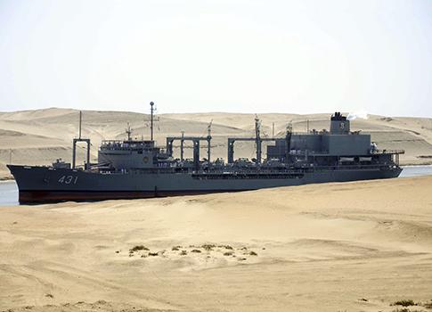 Iranian Navy vessel / AP