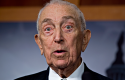 Lautenberg speaks to reporters after the passage of the Sandy relief bill. (AP)