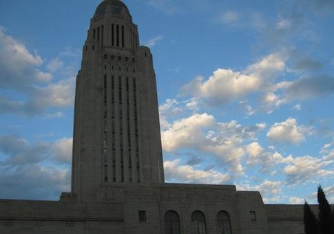 Nebraska capital building / Flickr