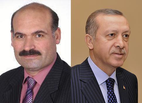 Ahmet Kavas, Prime Minister Recep Tayyip Erdogan /Twitter, AP