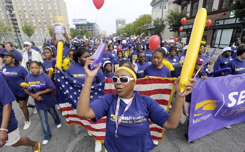 Labor Day Parade in Detroit / AP