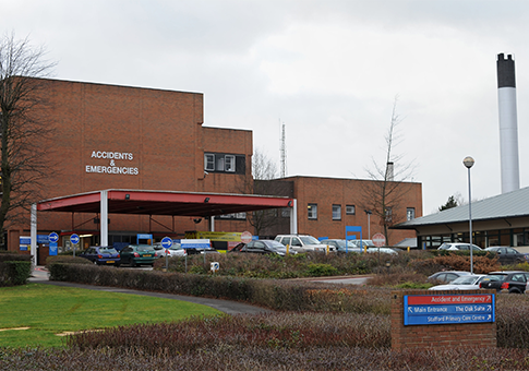 Stafford Hospital / AP