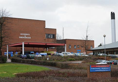 Stafford Hospital / AP