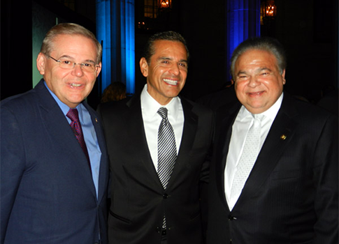 Sen. Menendez, Villaraigosa, Melgen / VOXXI