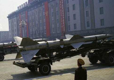 April 2012 parade in North Korea / AP