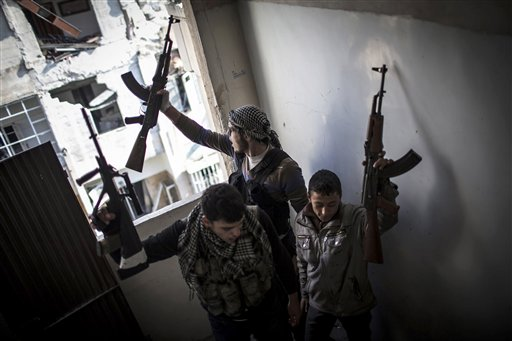 Syrian Rebels (AP)