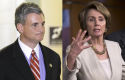 Rob Andrews, Nancy Pelosi / AP