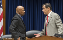 Rep. Cummings, Chairman Issa / AP
