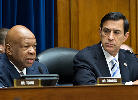 Rep. Cummings, Rep. Issa / AP