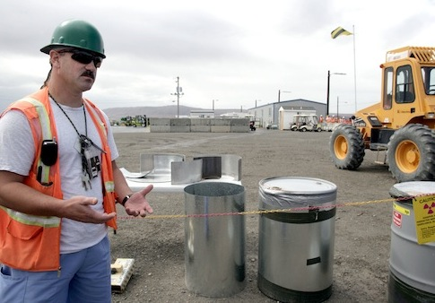 Hanford nuclear waste cleanup / AP