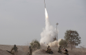 Israeli Iron Dome missile launched to intercept a rocket fired from Gaza, Nov. 2012 / AP