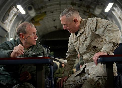 Gen. Mattis and Gen. Dempsey / Flickr