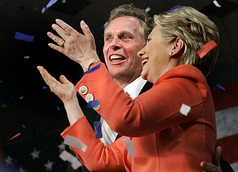 Terry McAuliffe, Hillary Clinton 2008 / AP