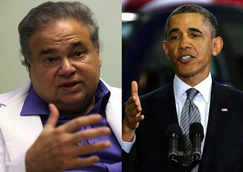 Melgen, Obama / AP