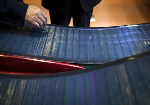 Thin-film solar panels developed by MiaSole / AP