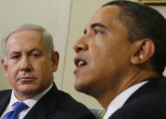 Netanyahu, Obama / AP