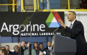 Obama speech at Argonne National Laboratory / AP