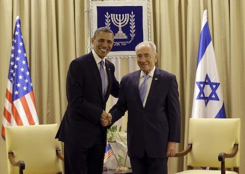Barack Obama, Shimon Peres / AP