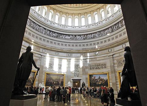 U.S. Capitol Rotunda / AP