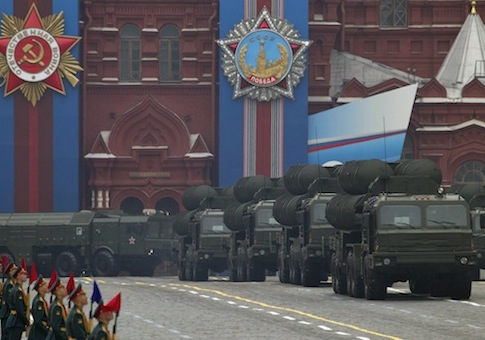 Russia military parade / AP