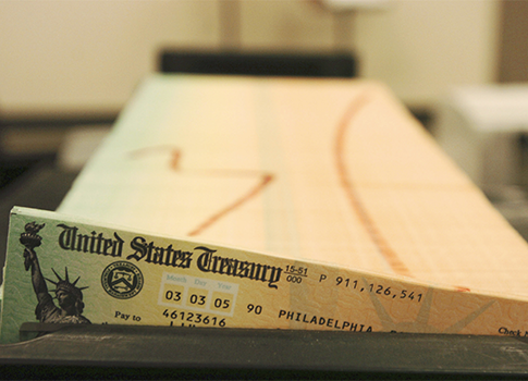 Social Security checks (AP)