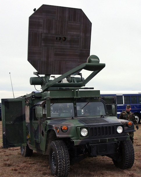 Active Denial System, a non-lethal U.S. Air Force ray gun / AP