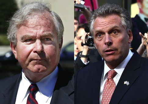 Sandy Berger, Terry McAuliffe / AP
